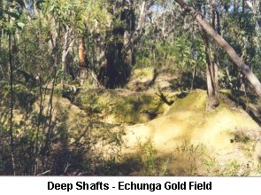 Deep Shafts - Echunga Gold Field - Click to enlarge